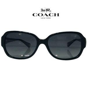 Coach Sunglasses HC8015 (L019 Allie) Black - EUC